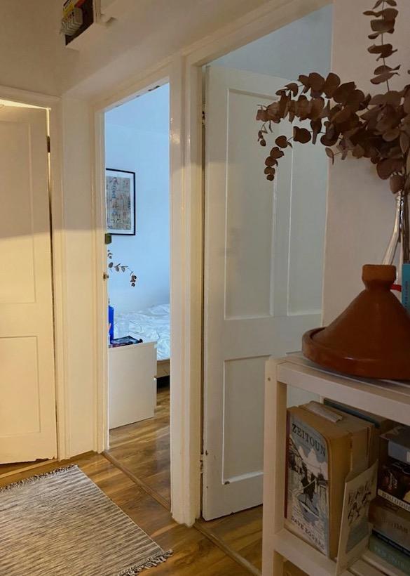 three doorways in London