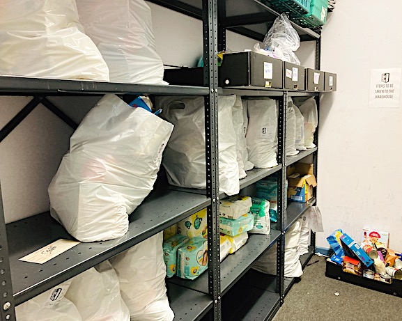 Safe foodbags in Storehouse