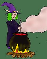 PoZie la sorcière et son chaudron