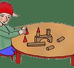 PoZ et ses cubes en bois
