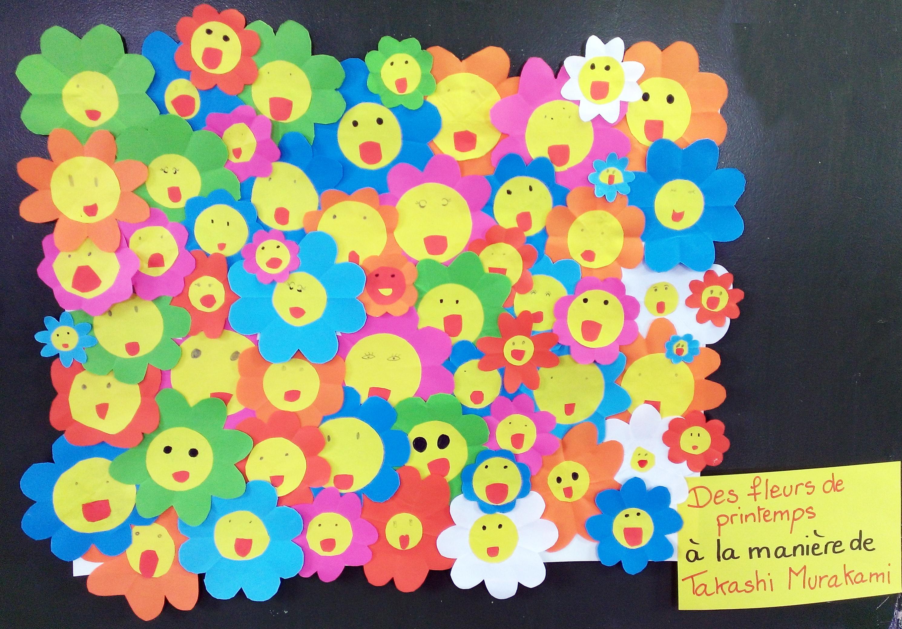 Des Fleurs De Printemps La Manire De Takashi Murakami