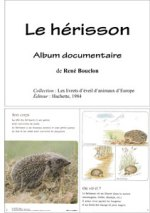 Le hérisson - album documentaire