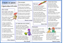 Odyssée poétique - corpus de poèmes sur la rentrée