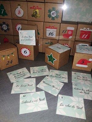 Boites de l'avent et albums de Noël