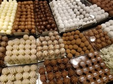 Swiss chocolates galore