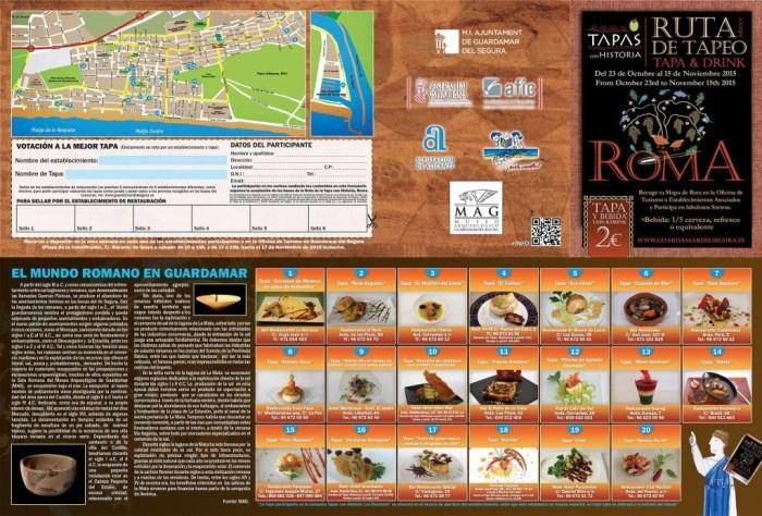 Guardamar Tapas 2015 Leaflet
