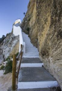 Iznájar steps