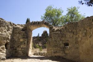 Montefrío ruins