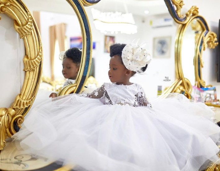 Tracey Boakye And Papa Nu's Daughter Celebrate 1 Year With Stunning Photos 4
