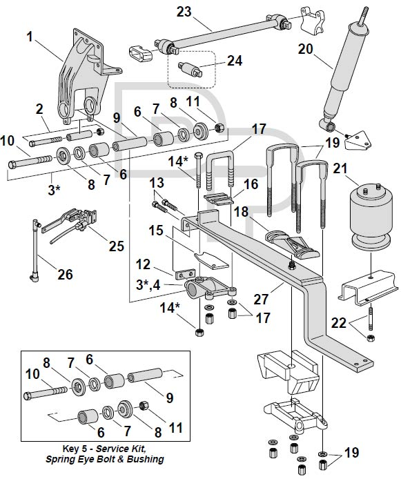 Mack Semi Truck Belt Diagram
