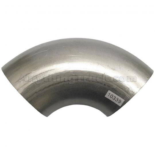 ptp 10339 90 degree 4 od od aluminized exhaust elbow 4 1 2 legs 4 1 2 radius