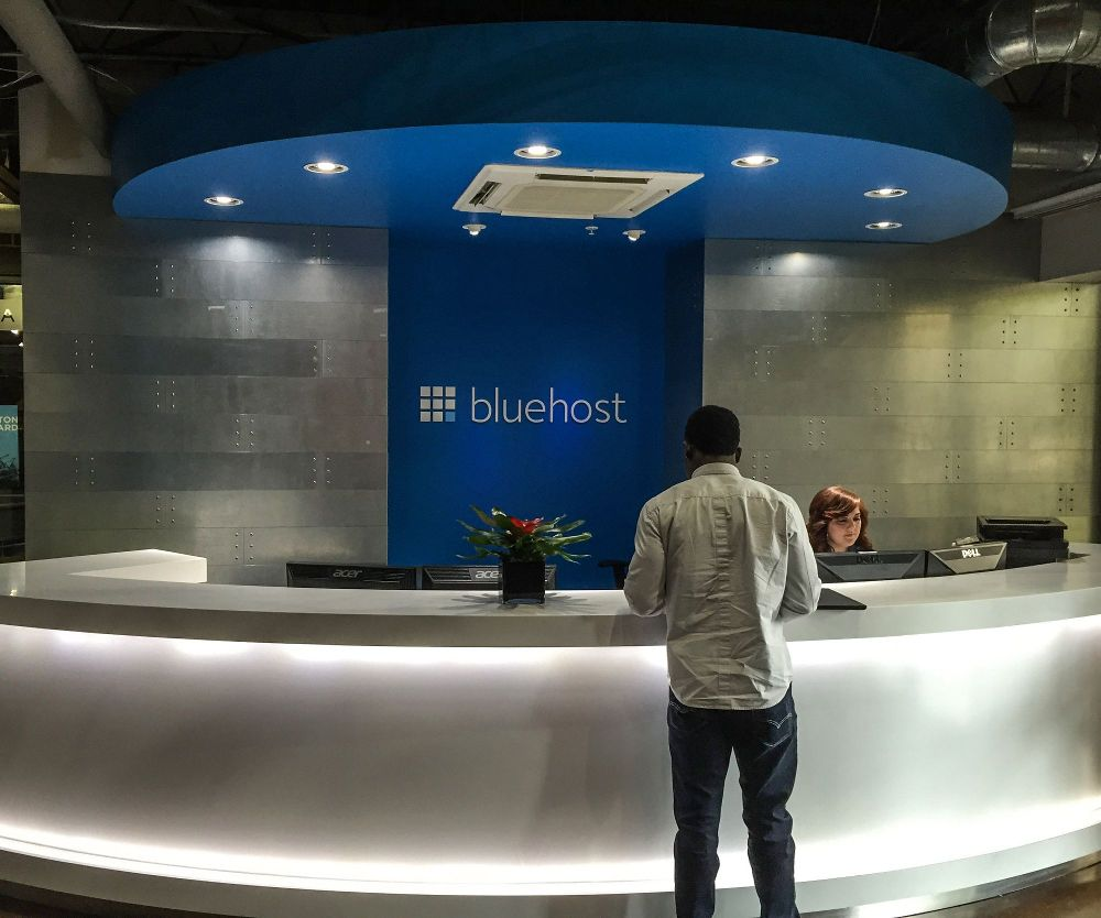 bluehost front desk