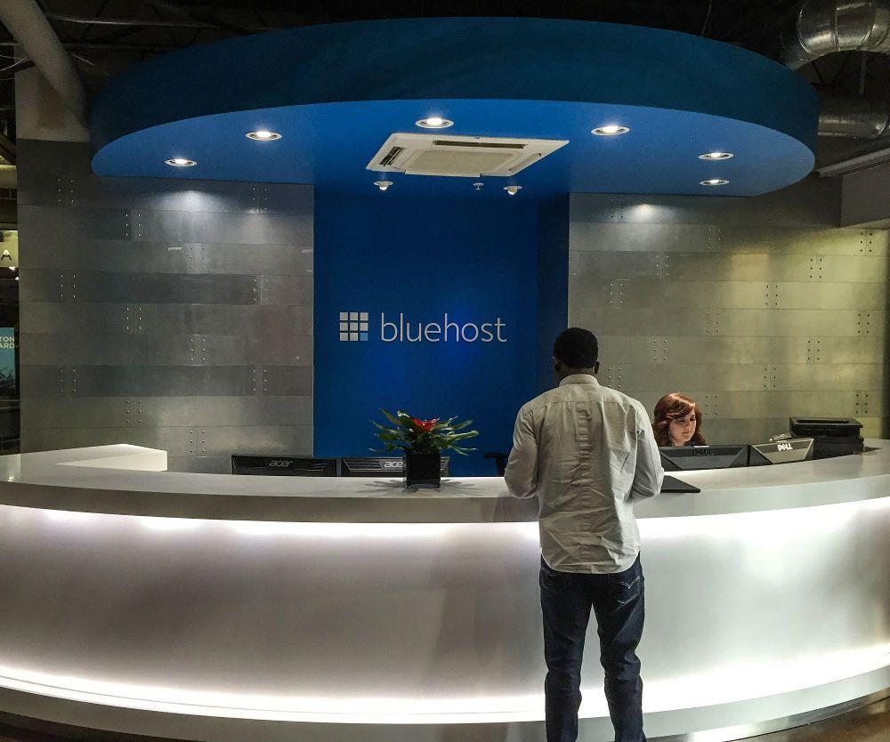 bluehost front desk