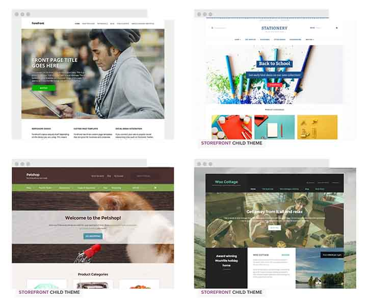 WooThemes examples