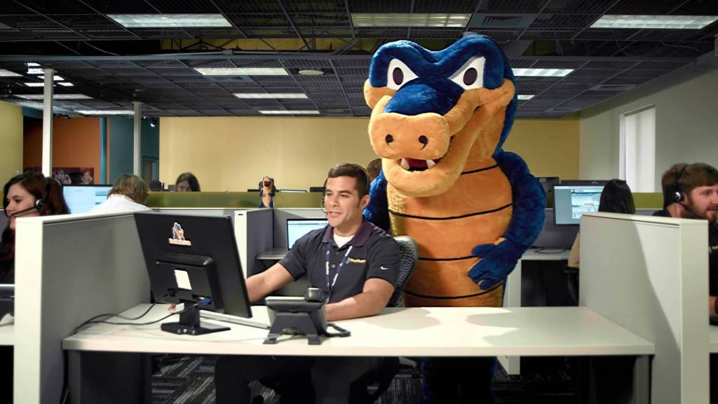 HostGator helping a support office with a web host client