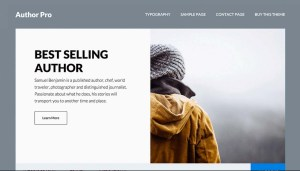 Studiopress Genesis WordPress Author Pro Theme