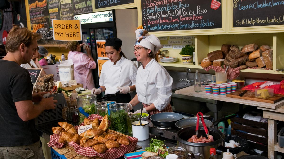 Enjoy the artisanal food trend