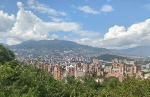 Medellin view on one of our walks