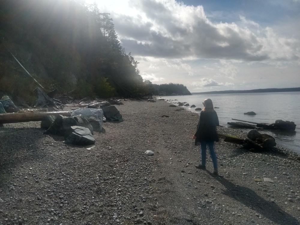 Another beach walk