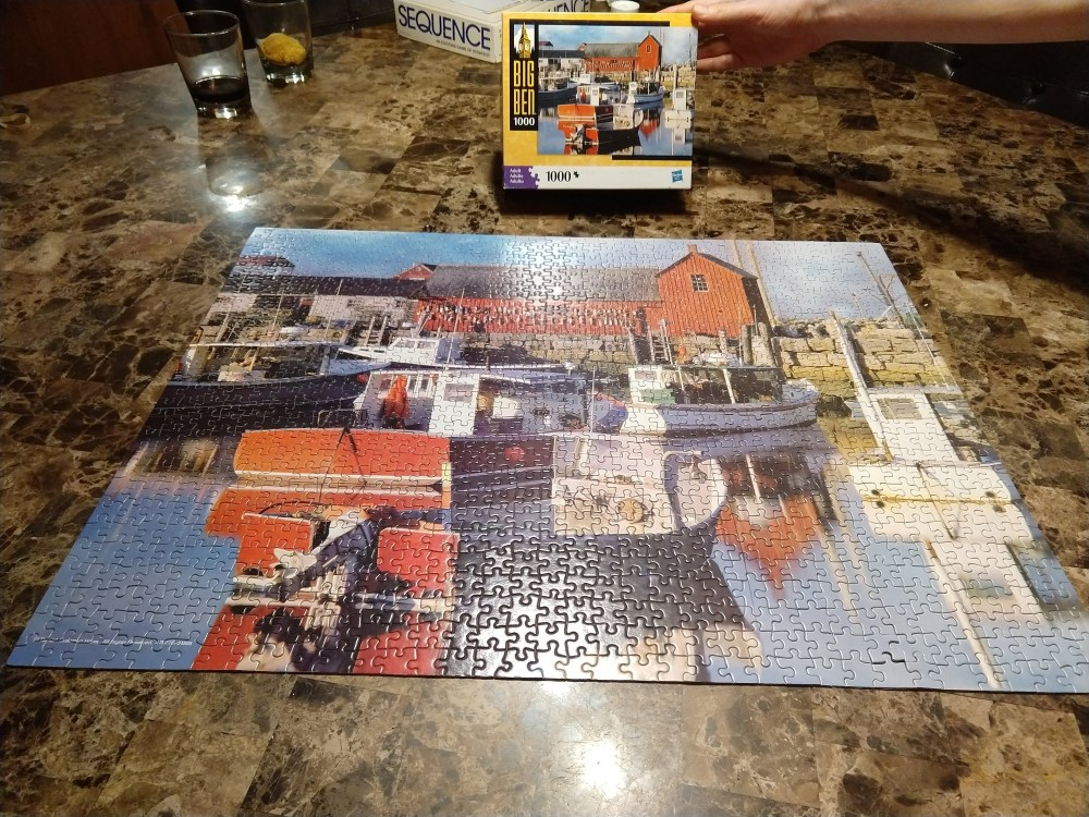 Our 1000-piece puzzle