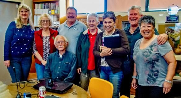 Colorado Desert Archaeology Society members