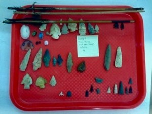 Projectile point artifacts