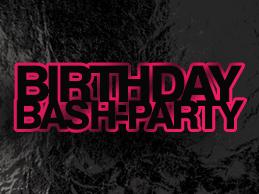 Birthday Bash-Party