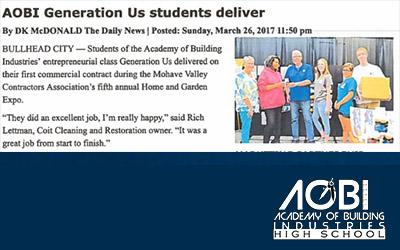 AOBI Students Deliver