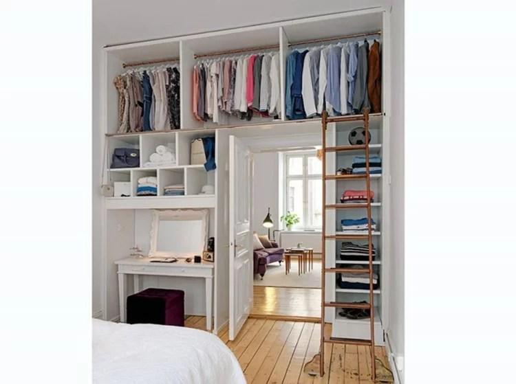 creer dressing dans petit appartement