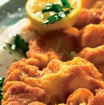 Menu 3: Kip schnitzel
