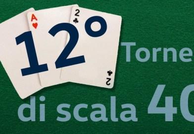 12° Torneo di Scala 40