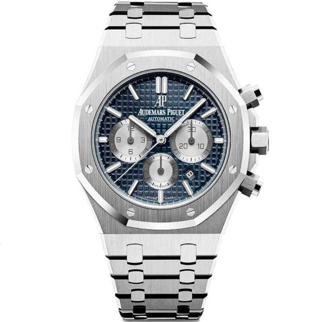 Replica Audemars Piguet Royal Oak Chronograph 41mm Steel Blue Dial 26331ST.OO.1220ST.01