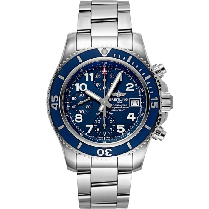 Replica Breitling Superocean Chronograph 42mm Blue Dial A13311D1.C936.161A