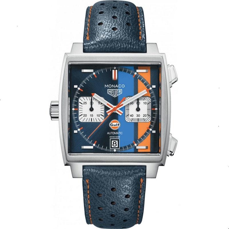 Replica TAG Heuer Monaco Chronograph Gulf Special Edition CAW211R.FC6401