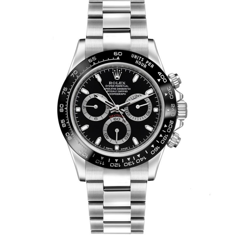 Best Replica Rolex Cosmograph Daytona Black Dial 116500LN