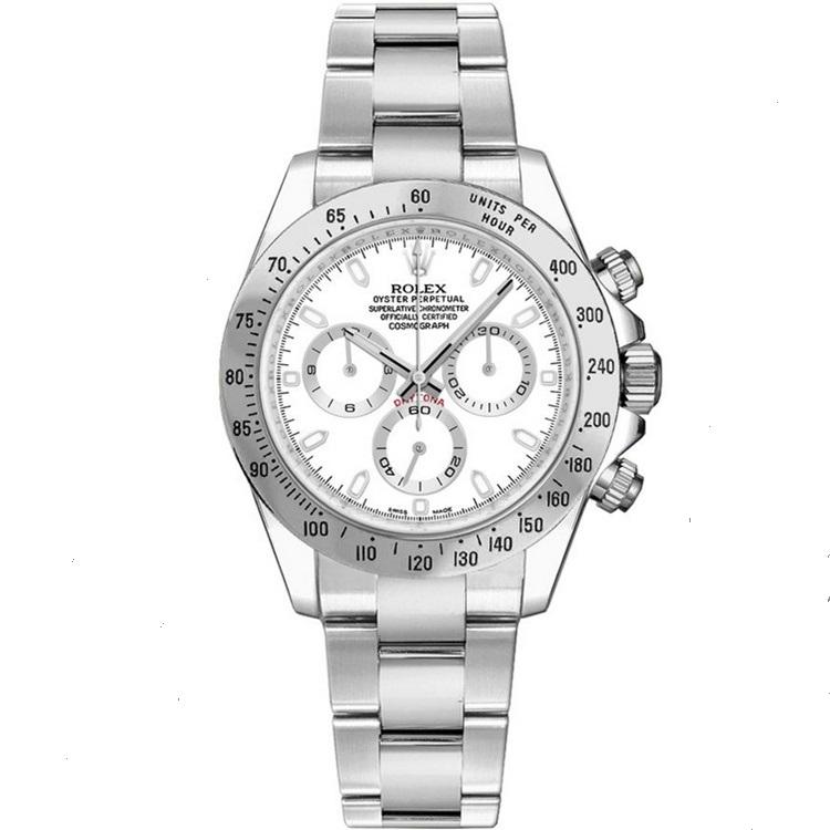 Replica Rolex Cosmograph Daytona White Dial 116520