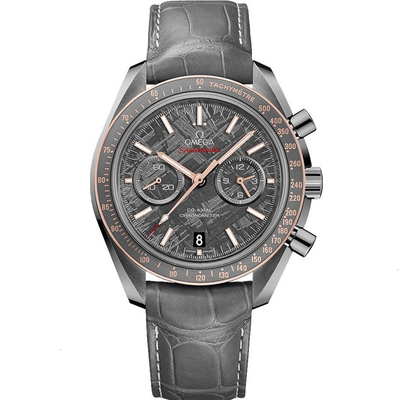 Replica Omega Speedmaster Moonwatch Grey Side Of The Moon Meteorite 311.63.44.51.99.002