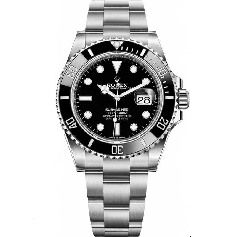Replica Rolex Submariner Date Steel Black Dial 126610LN