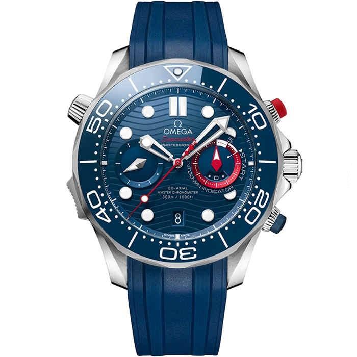 Replica Omega Seamaster Diver 300M America's Cup Chronograph 210.30.44.51.03.002