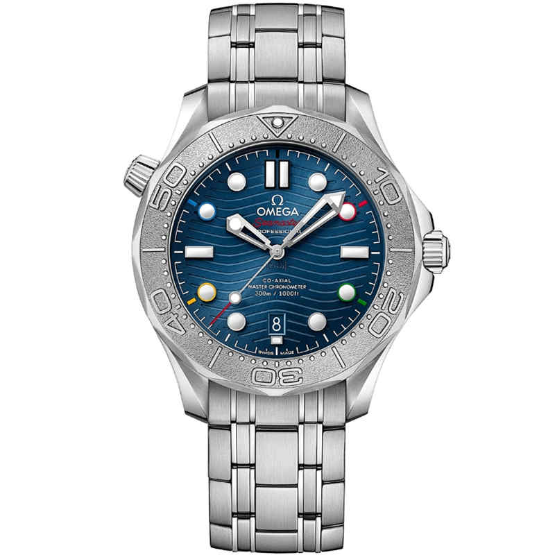 Replica Omega Seamaster Diver 300M Beijing 2022 Olympic Special Edition 522.30.42.20.03.001
