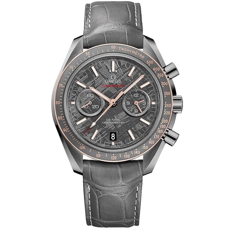Replica Omega Speedmaster Grey Side of the Moon Meteorite Chronograph 311.63.44.51.99.001