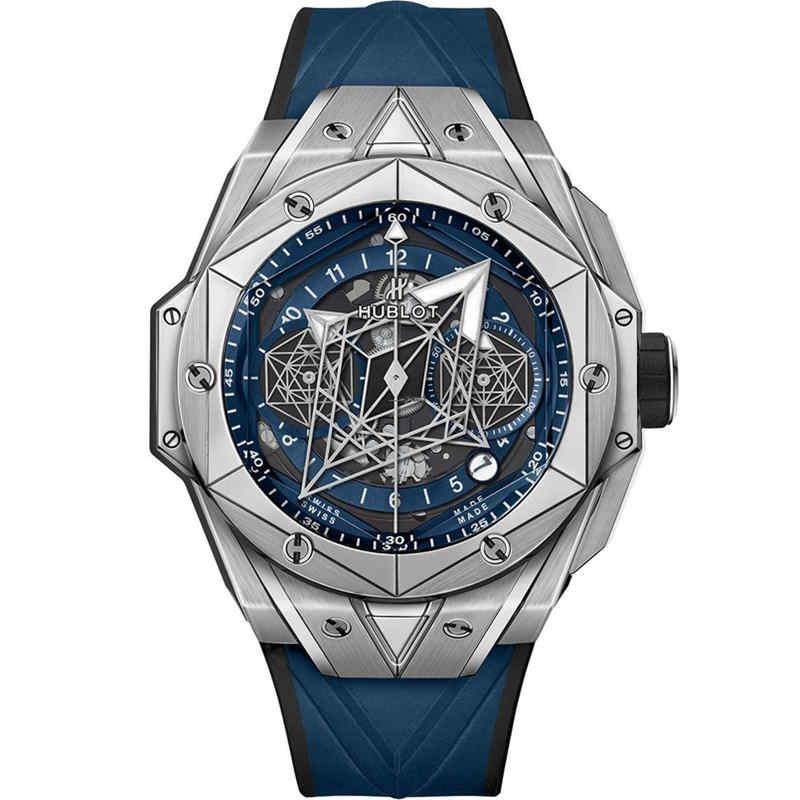 Replica Hublot Big Bang Sang Bleu II Titanium Blue 418.NX.5107.RX.MXM20