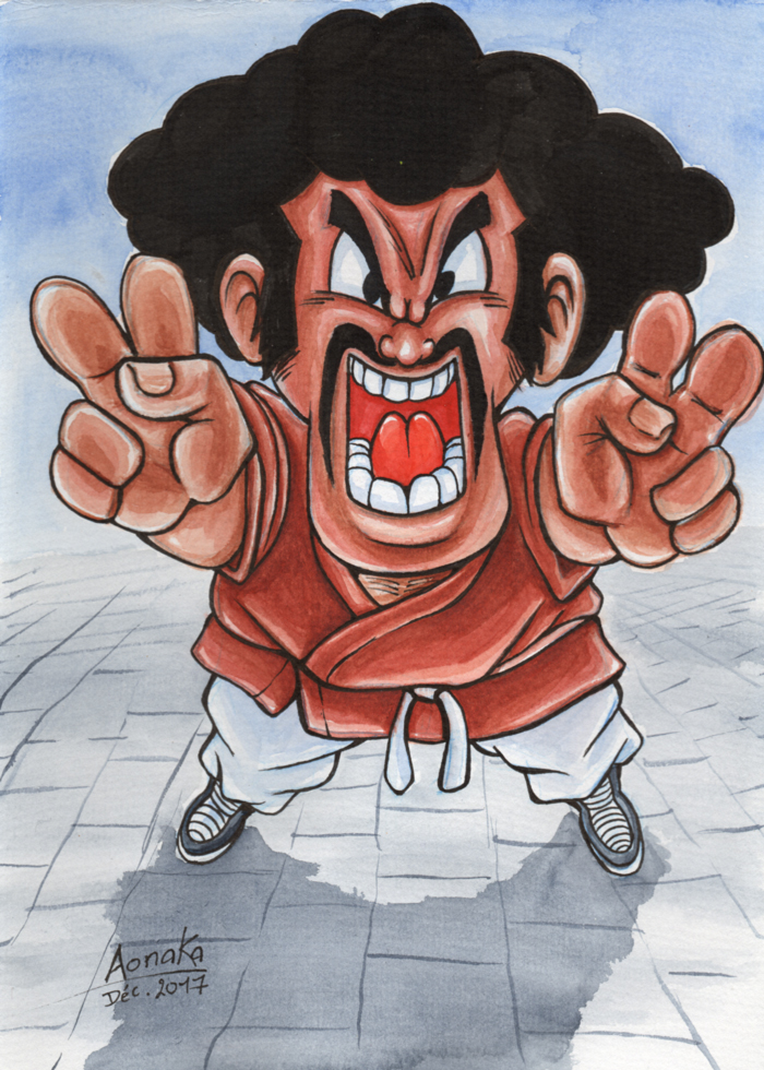Fan Art Dragon Ball Z - Chibi Hercule Satan