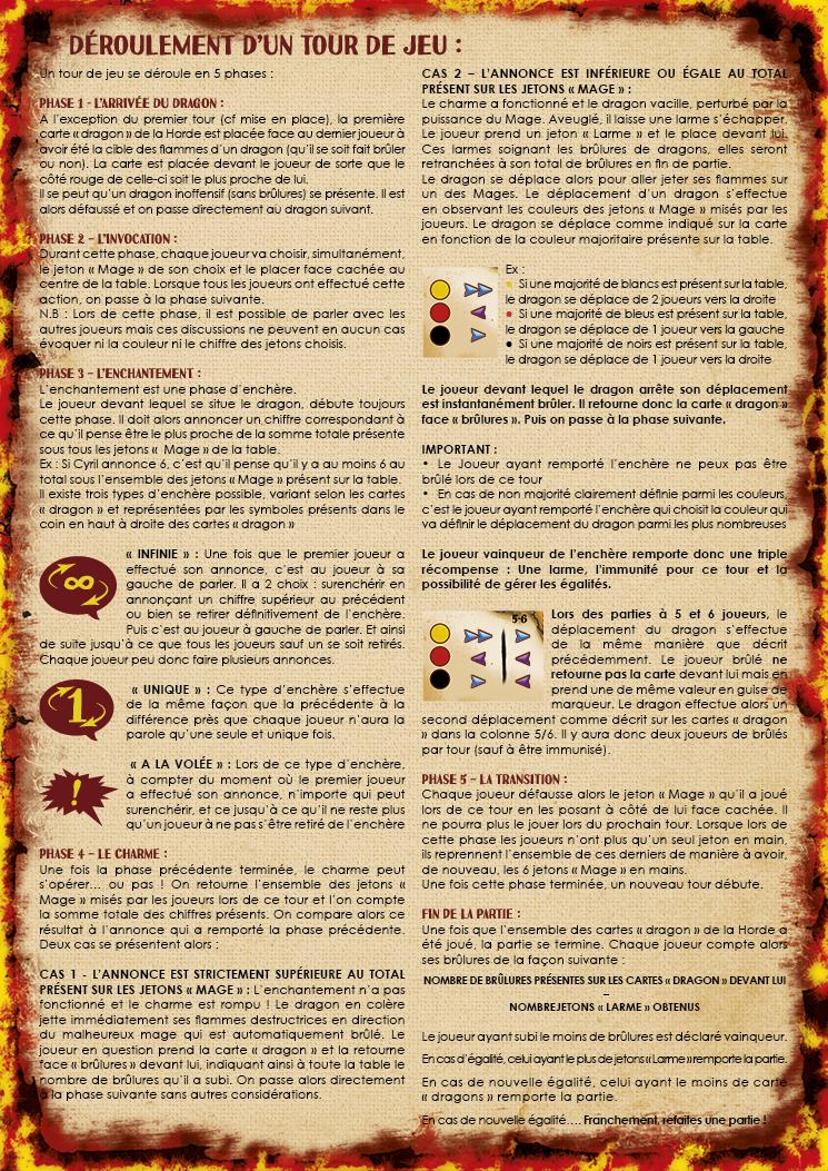 Lud'Act - Drekki - Règle du jeu verso