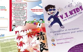 Aonaka - Flyer, dépliants ou brochure