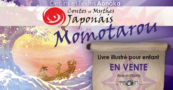 Contes et Mythes Japonais - Momotarou en vente aux éditions YIL