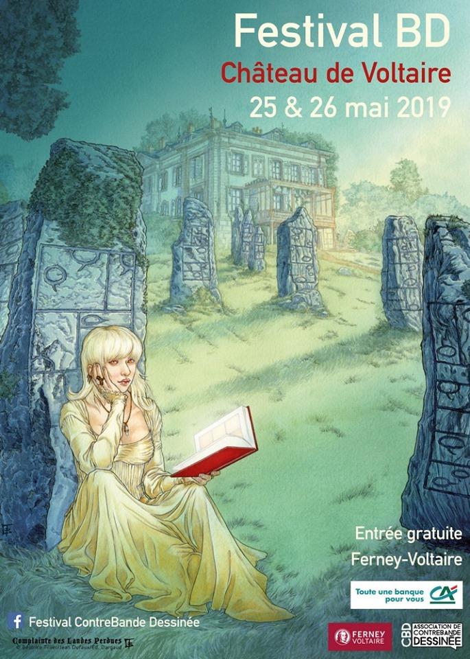 festival BD au Château de Voltaire