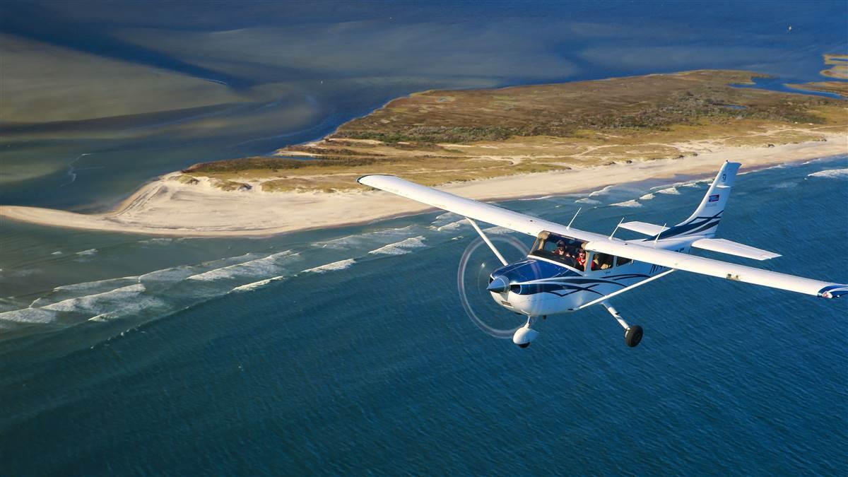 Barrier Island Flying