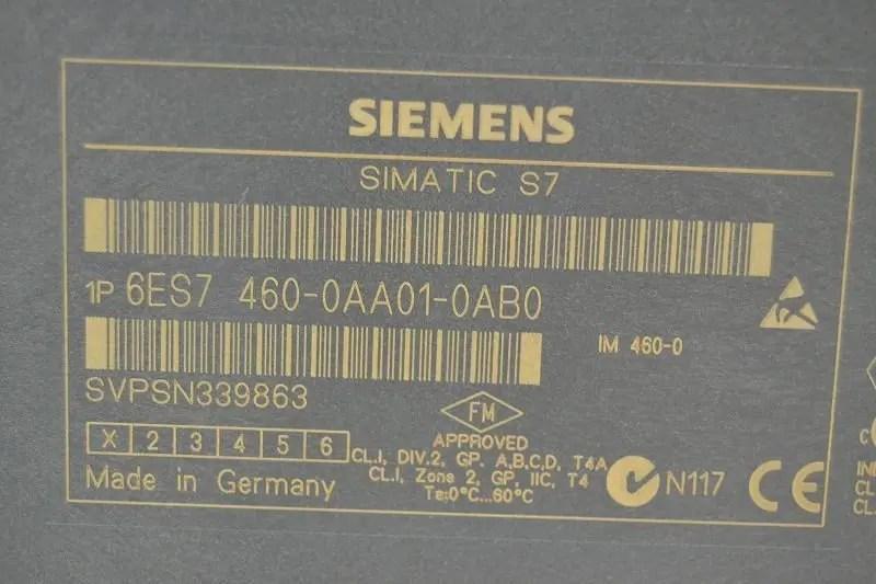 6ES7460-0AA01-0AB0