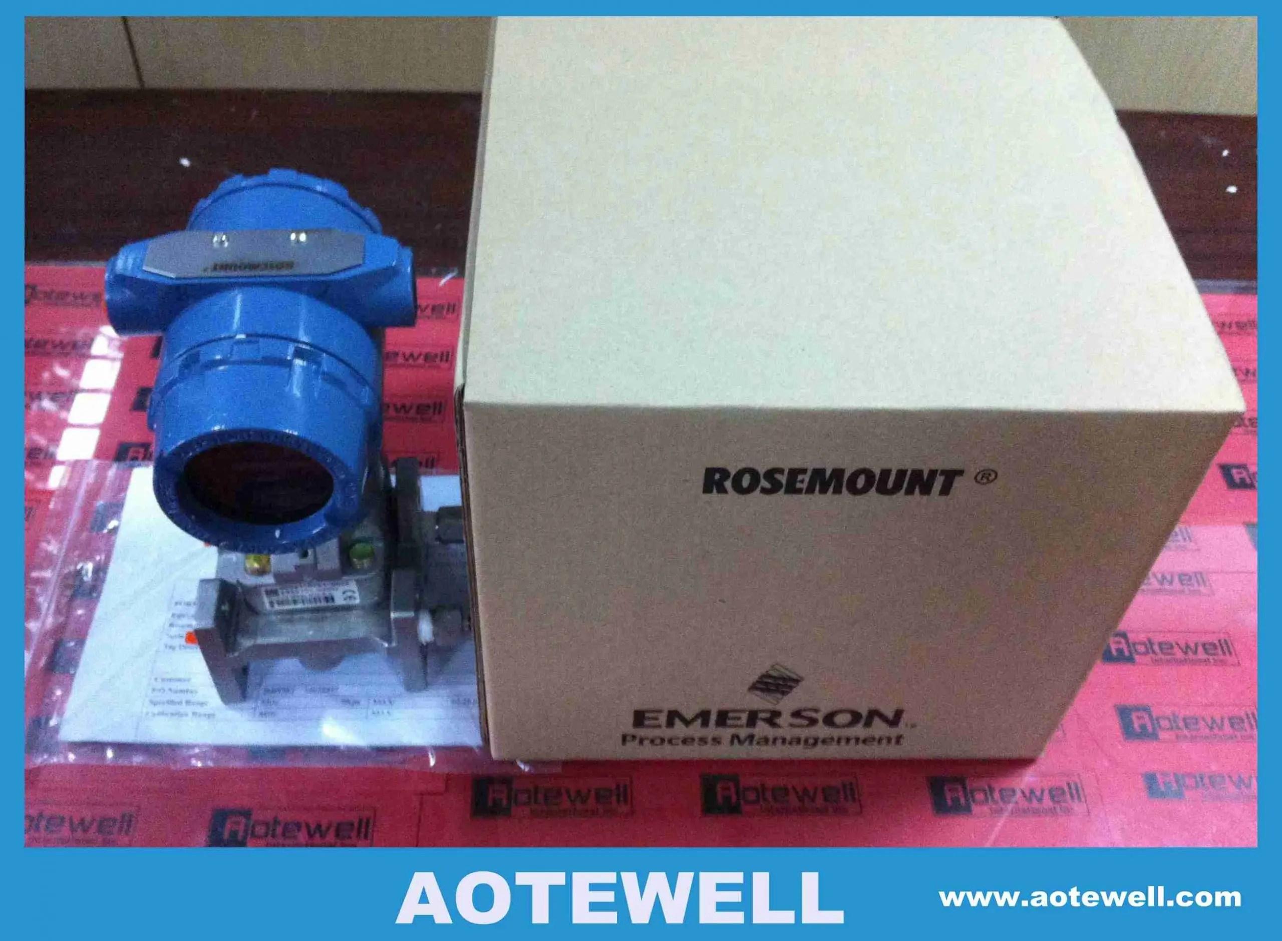 Rosemount 3051 transmitter